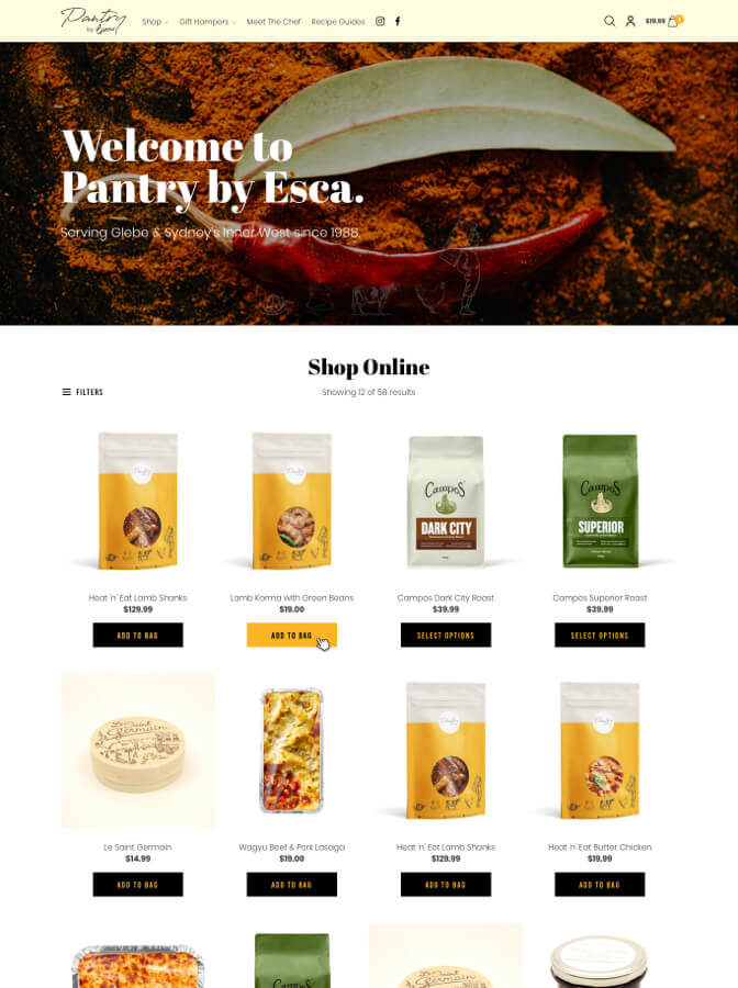 Pantry by Esca